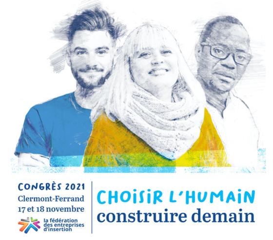 Congrès Fédération des entreprises dinsertion 2021