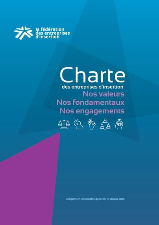 Couverture de la Charte des entreprises d insertion